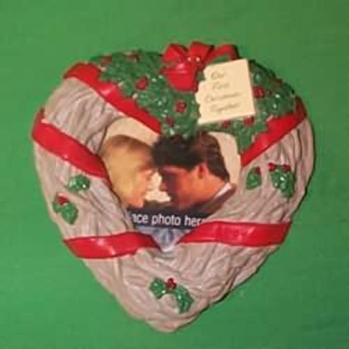 1994 1st Christmas Together - Photo