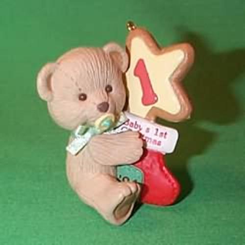 1994 Baby's 1st Christmas - Bear