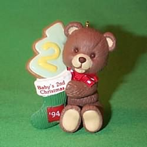 1994 Baby's 2nd Christmas - Bear