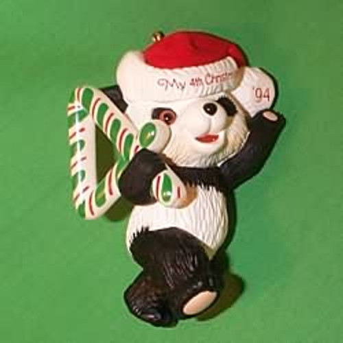 1994 Child's 4th Christmas - Bear