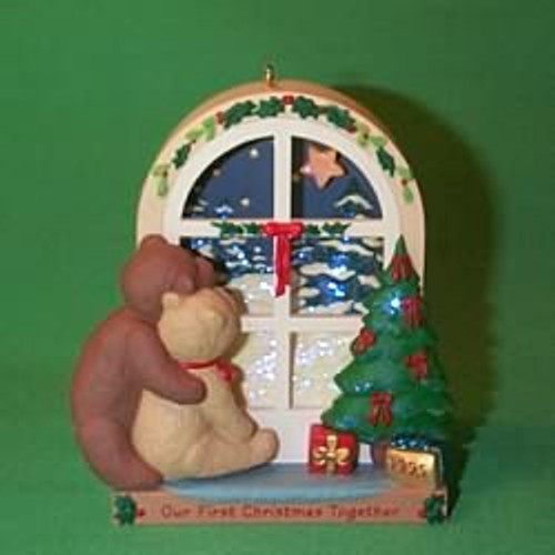 1995 1st Christmas Together - Window