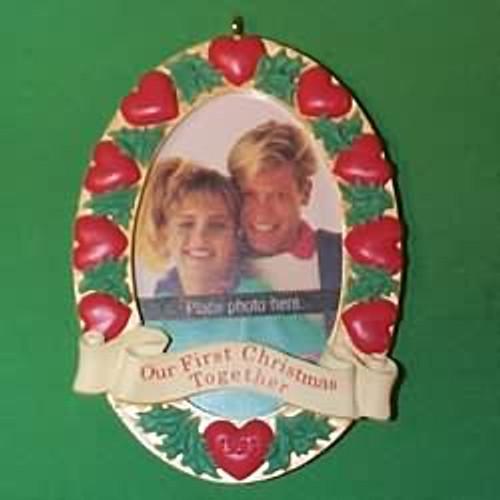 1993 1st Christmas Together - Photo