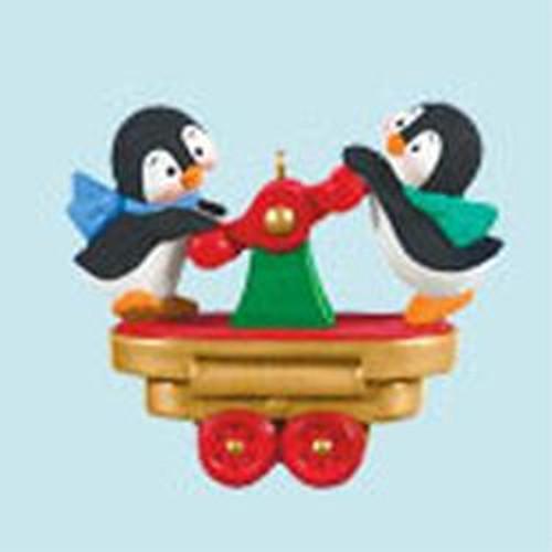2011 Santa's Holiday Train - Penguin Power