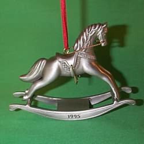 1995 Rocking Horse Anniversary - Pewter