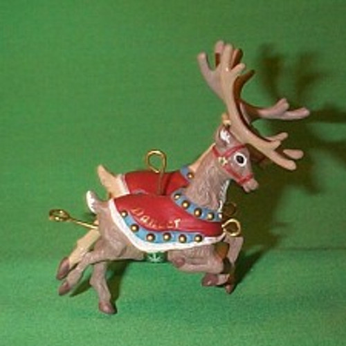 1992 Santa And Reindeer - Dasher And Dancer