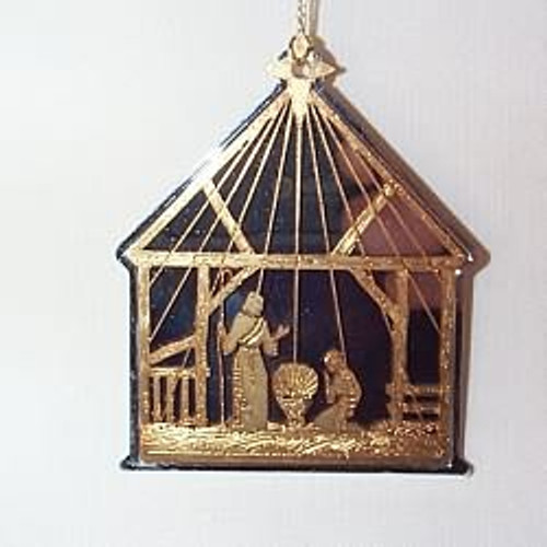 1982 Hall Family Ornament - No Card