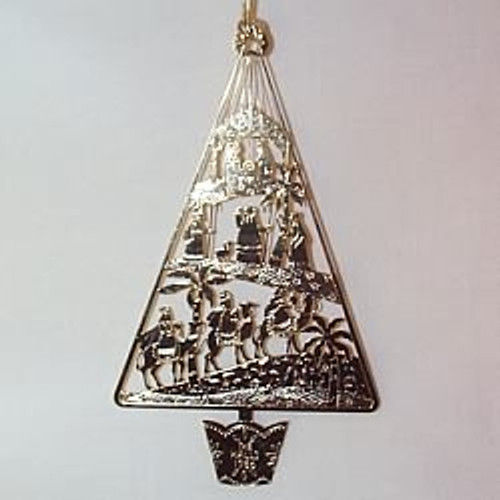 1986 Hall Family Ornament - No Card
