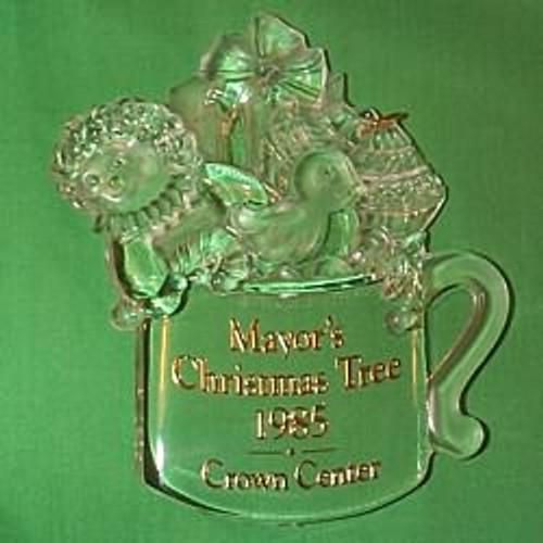 1985 Mayor's Tree Ornament