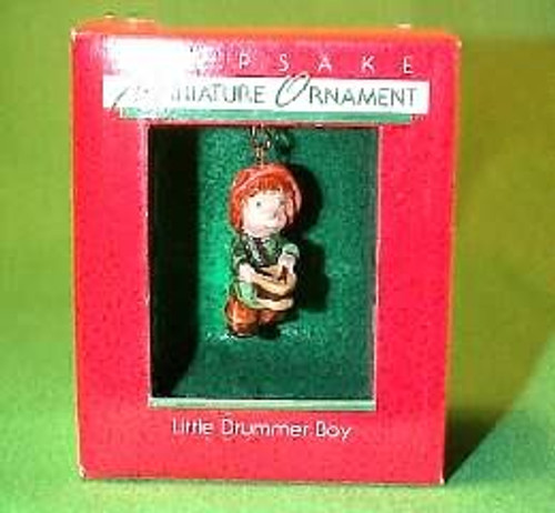 1988 Little Drummer Boy - Miniature