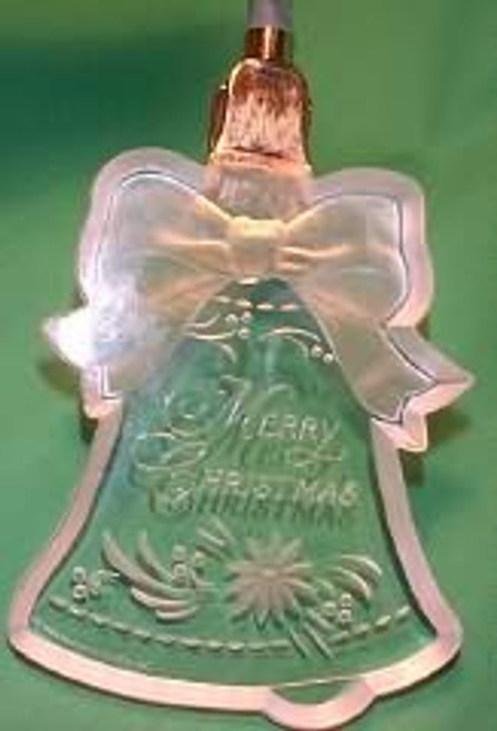 1986 Merry Christmas Bell