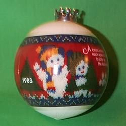 1983 Babys 2nd Christmas - Ball