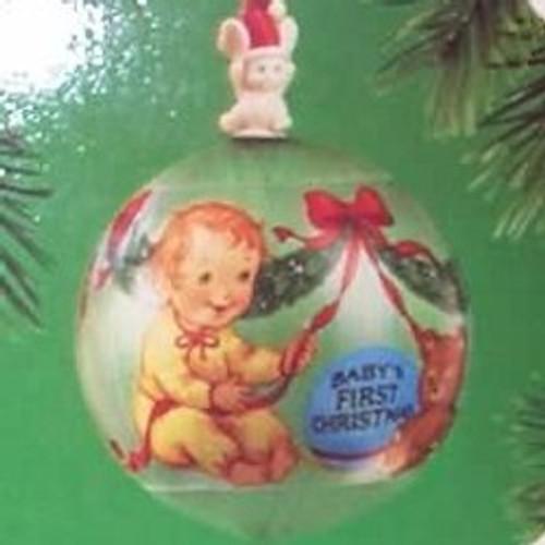 1985 Babys 1st Christmas - Ball