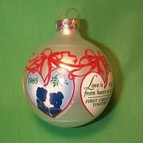 1985 1st Christmas Together - Bulb