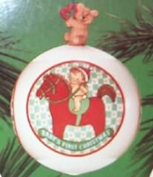 1986 Babys 1st Christmas - Ball
