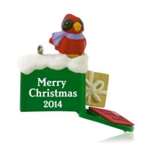 2014 Santa Has Mail - Miniature