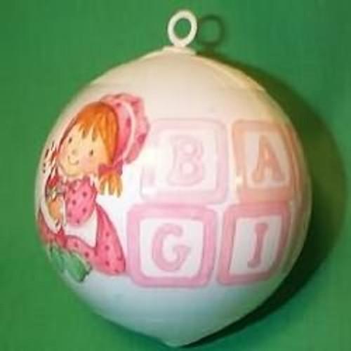 1987 Babys 1st Christmas - Girl