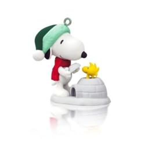 2014 Winter Fun with Snoopy #17 - Igloo