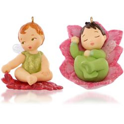 2015 Baby Fairy Messengers #1 - Lotus and Poinsettia