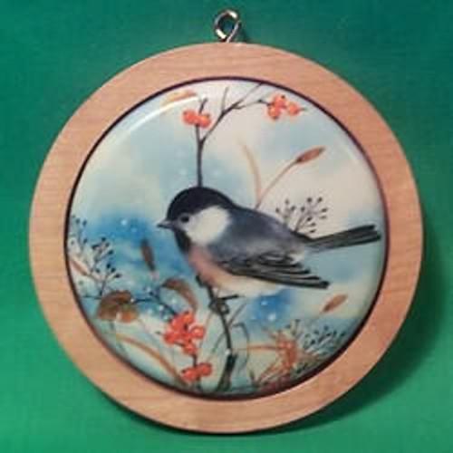 1983 Holiday Wildlife #2 - Chickadees