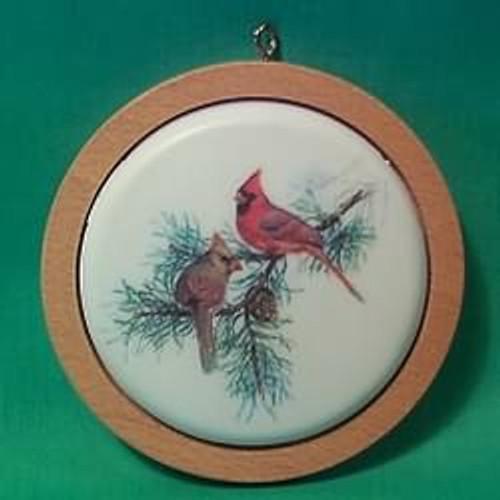 1982 Holiday Wildlife #1 - Cardinals