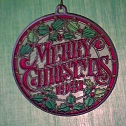 1981 Merry Christmas - Ambassador