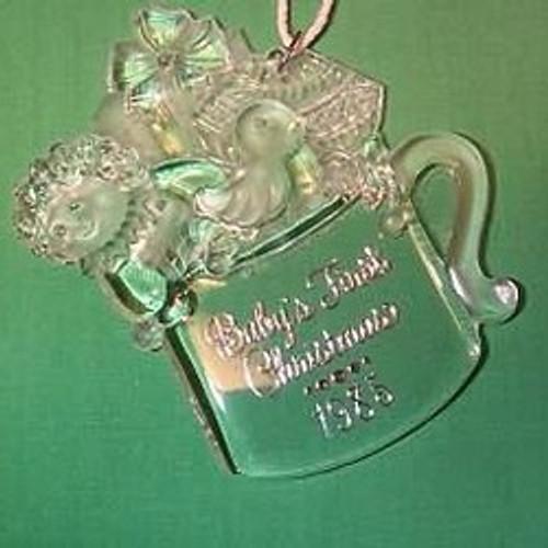 1985 Babys 1st Christmas - Acrylic