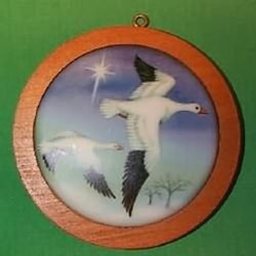 1987 Holiday Wildlife #6 - Snow Goose