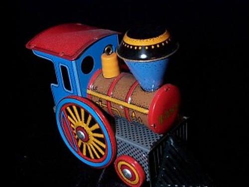 1988 Tin Locomotive #7