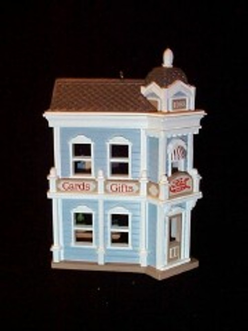 1988 Nostalgic Houses #5 - Card Shop