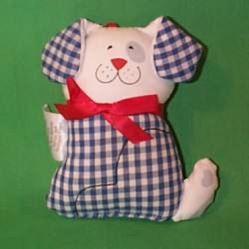 1981 Gingham Dog - Fabric