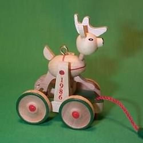 1986 Wood Childhood #3 - Reindeer