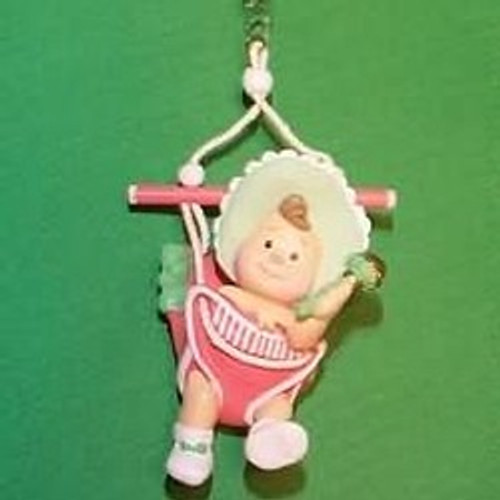 1987 Babys 1st Christmas - Swing