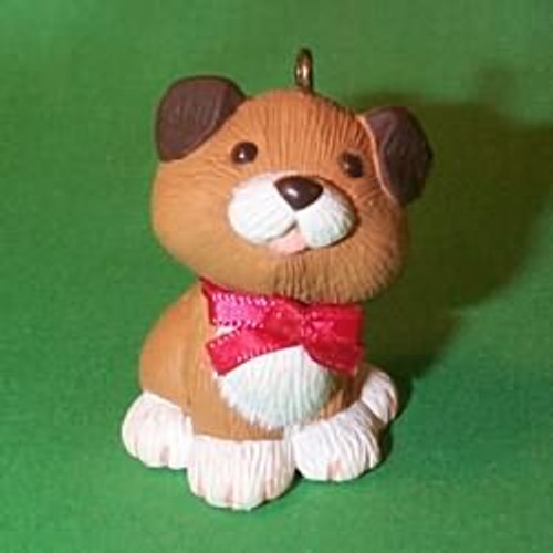 1983 Holiday Puppy