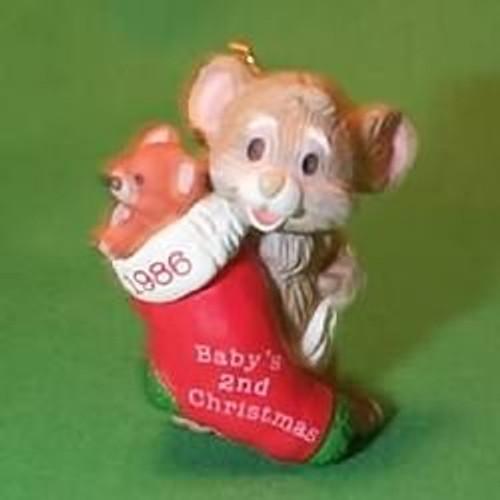 1986 Babys 2nd Christmas