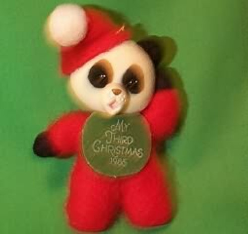 1986 Childs 3rd Christmas - Bear