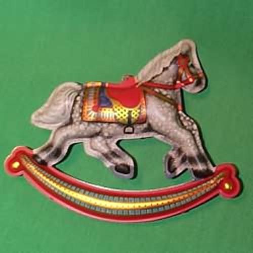 1983 Tin Rocking Horse