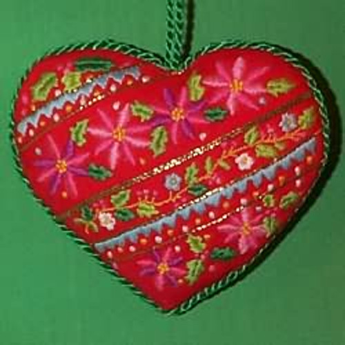 1983 Embroidered Heart