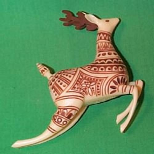 1983 Scrimshaw Reindeer