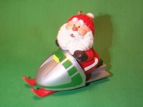 1984 Snowmobile Santa