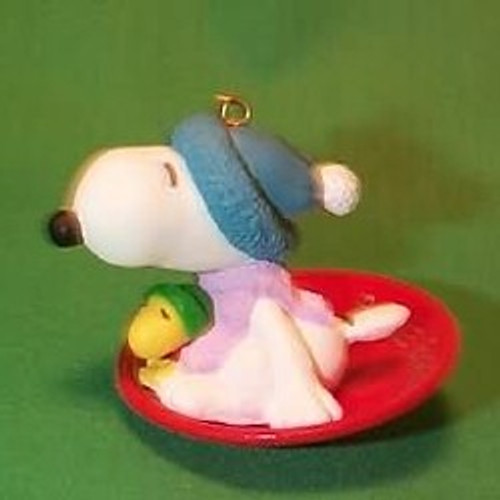 1986 Snoopy And Woodstock