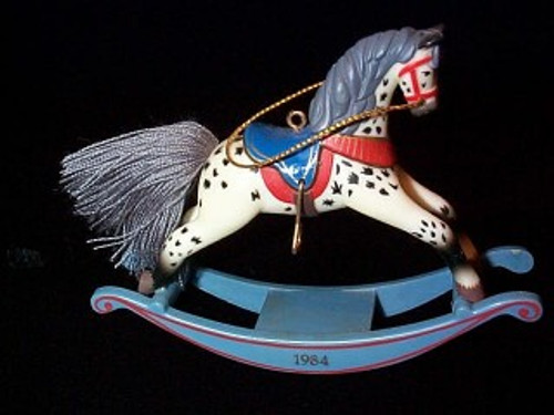 1984 Rocking Horse #4 - Appaloosa
