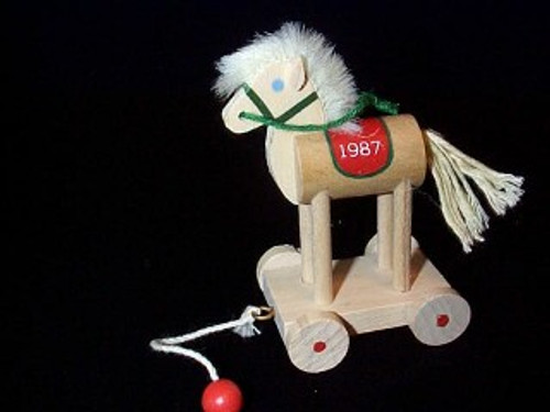 1987 Wood Childhood #4 - Horse