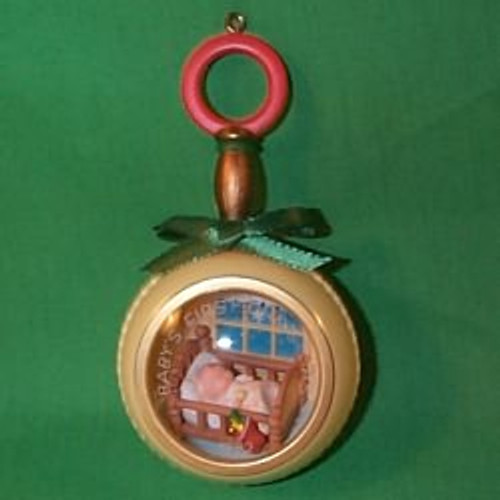 1982 Babys 1st Christmas - Rattle