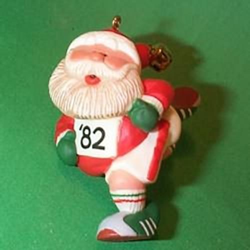 1982 Jogging Santa