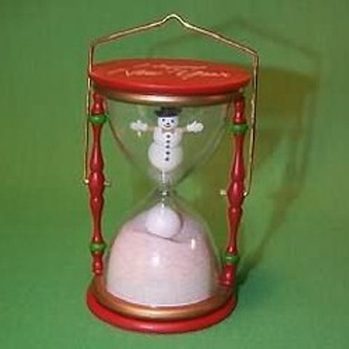 1987 Holiday Hourglass