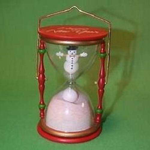 1987 Holiday Hourglass