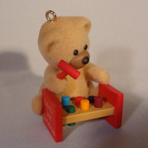 1988 Babys 2nd Christmas - Bear
