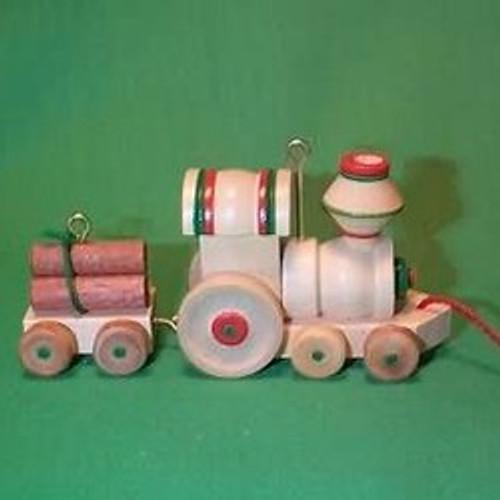 1985 Wood Childhood #2 - Train