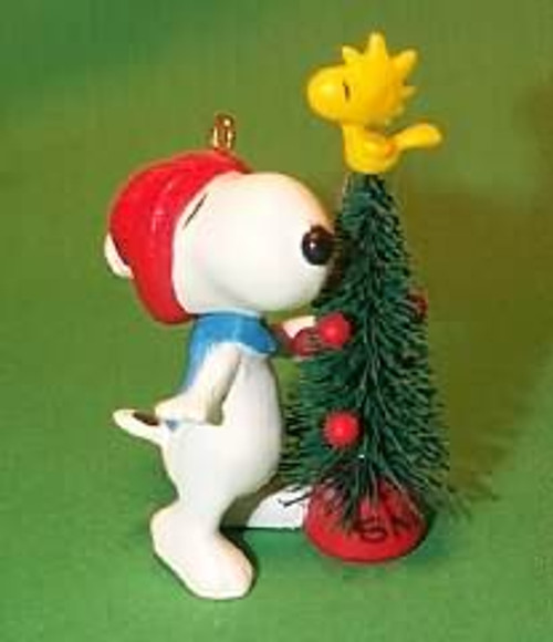1987 Snoopy And Woodstock