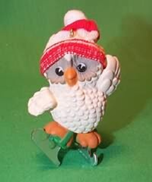 1985 Ice Skating Owl